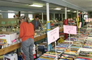 Friends of Granby Public Library book sale items
