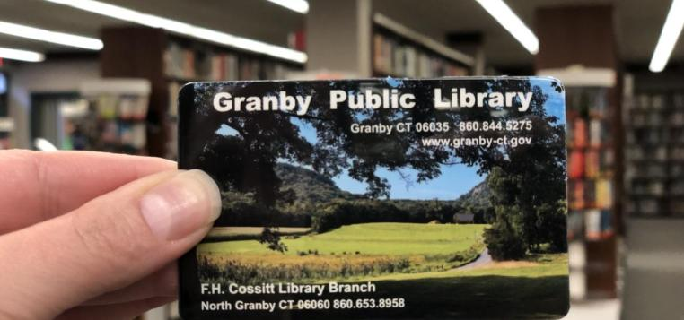 Granby Library Card