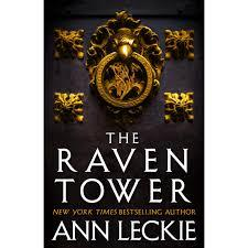 Photo of Raven Tower book cover by Ann Leckie
