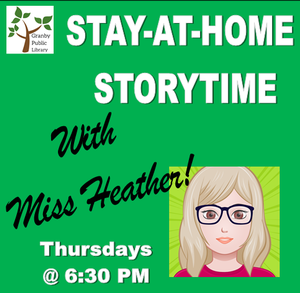 Stay-at-home storytime with Miss Heather picture